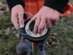 Comment changer une bobine de fil sur un rotofil ?